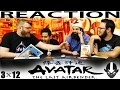 """Avatar: The Last Airbender 3x12 REACTION!! """"The Western Air Temple"""""""