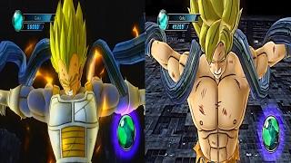 getlinkyoutube.com-Dragonball Z Ultimate Tenkaichi Mod: Goku & Vegeta vs Meta-Cooler Core Boss Fight
