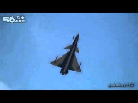 Airshow China 2012: PLA demoing J-10 fighter jets