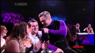 getlinkyoutube.com-Robbie Williams ~ Candy (Live X Factor UK)