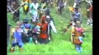 getlinkyoutube.com-Pennsic War Woods Battle SCA Combat Fighting Video documentary