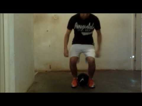 clases de futbol freestyle : trucos faciles ( tutorial freestyle football )