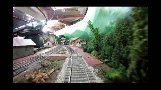 getlinkyoutube.com-Cincinnati Model Railway Club O-Scale Layout: Scenes & Cab Ride. (Under Construction)