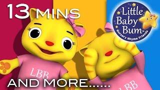 getlinkyoutube.com-Peekaboo Song | Plus Lots More Nursery Rhymes | Original Song by LittleBabyBum!