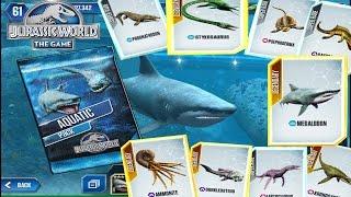 getlinkyoutube.com-FEEDING THE NEW AQUATIC CREATURES! -Jurassic World The Game - Aquatic Update!