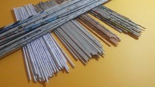 getlinkyoutube.com-How to make paper tubes