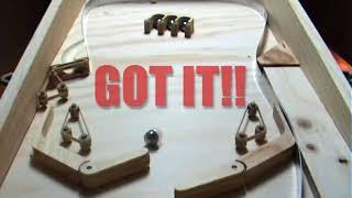 getlinkyoutube.com-Homemade Pinball (Wooden) - Work in Progress