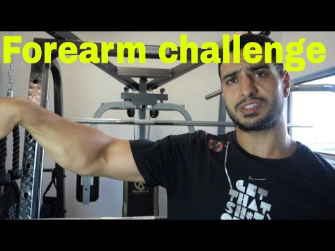 800 REPS A DAY FOREARM CHALLENGE WORKOUT RESULTS