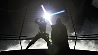 getlinkyoutube.com-Star Wars : Evolution of the Lightsaber Duel (Full Length)