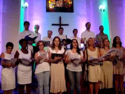 Cantata de natal na Igreja Luterana da Paz