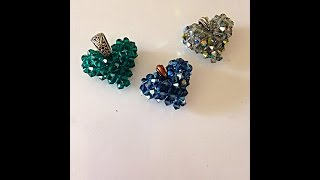 getlinkyoutube.com-Make a Swarovski Crystal Heart, step-by-step