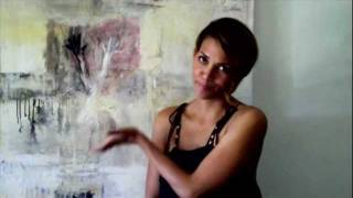 getlinkyoutube.com-A Day In The LIfe of Expressionist Painter Amadea Bailey