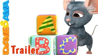 getlinkyoutube.com-ABC Song - Trailer | THE BEST Nursery Rhymes and Baby Songs from Dave and Ava