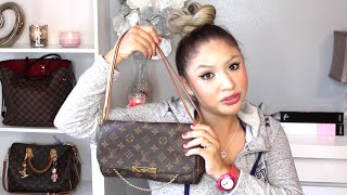 getlinkyoutube.com-HOW TO DOUBLE STRAP LOUIS VUITTON FAVORITE MM