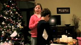getlinkyoutube.com-My Two PRACTICAL Kids Get Surprise Christmas Gift to WALT DISNEY WORLD 2014