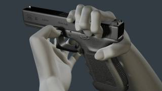 getlinkyoutube.com-3D Glock Animation - How to disassemble and reassemble the G20