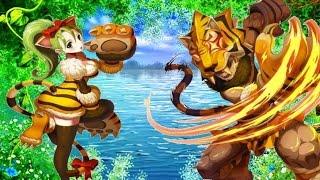getlinkyoutube.com-Lost Saga NA Tiger Evolution Gameplay