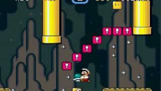 getlinkyoutube.com-Zagrajmy w Super Mario World (część 8) Niebieski Yoshi ! :D