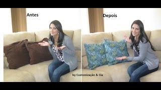 getlinkyoutube.com-Faça você mesma capas para almofadas by Customização & Cia