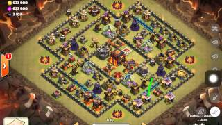 getlinkyoutube.com-The Best way to Defeat the Dreaded Square base th10 ! Clash w Jaxx