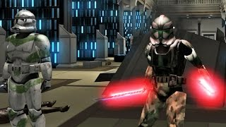 getlinkyoutube.com-Star wars Movie Duels 2 mod Jedi Academy: Retaking The Jedi Temple