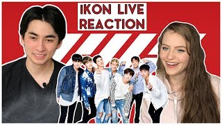 REACTION! | iKON LOVE SCENARIO LIVE | SBS INKIGAYO PERFORMANCE | GF & BF COMMENTARY