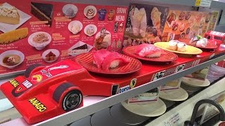 Japanese SUSHI train and sports car