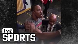 getlinkyoutube.com-Dwight Howard Challenges Lakers Fan to Fight | TMZ Sports