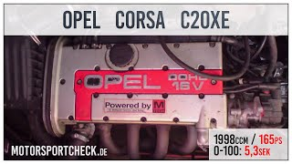 getlinkyoutube.com-Opel Corsa 0-100 100-200 Sound test c20xe