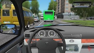 getlinkyoutube.com-City Car Driving - GAZ 31105