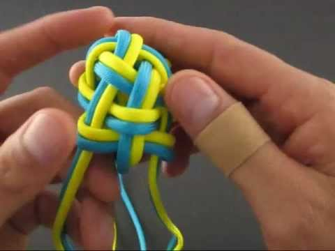 How to Tie the Double Woven Globe Knot by TIAT