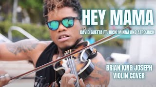getlinkyoutube.com-Hey Mama  (VIOLIN COVER) - David Guetta Ft. Nicki Minaj - Brian King Joseph