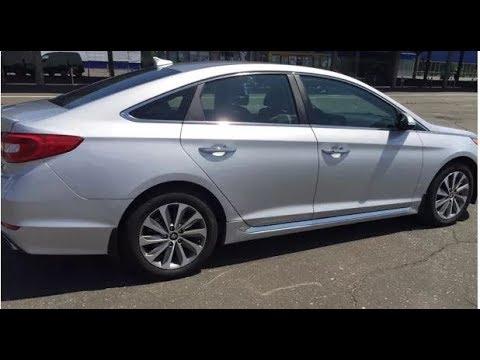 Хендай Соната Спорт (LF) 2015 (Hyundai Sonata Sport) замена масла и масленого фильтра