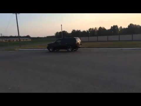 Chevrolet Tahoe MagnaFlow разводка на 2 стороны
