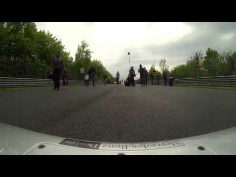 Michael Schumacher on the Nürburgring Nordschleife - Onboard view