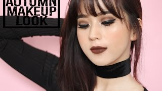 AUTUMN MAKEUP LOOK ( MAKEUP MUSIM GUGUR )