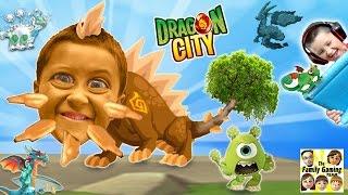 getlinkyoutube.com-Mike & Duddy play DRAGON CITY!  Collection / GEMS / Battle!  (iOS FGTEEV Gameplay)