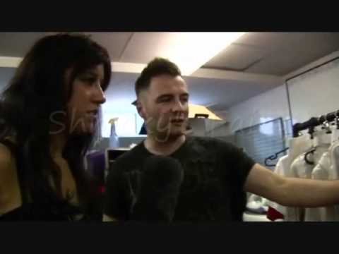 Westlife Shane Filan Backstage at the O2 blueroom 2010 (Part 1)