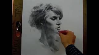 getlinkyoutube.com-60 minutes live drawing demo by Zimou Tan