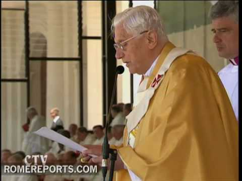 Benedicto XVI en Ftima  