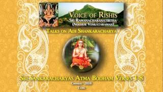 Sri Sankaracharya's Atma Bodham Verses (Tamil)