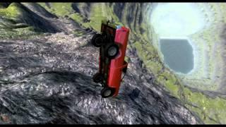 getlinkyoutube.com-Beam NG DRIVE - Очень быстрый пикап