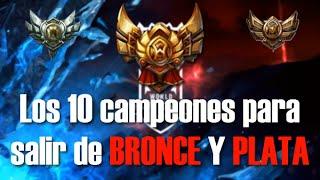 getlinkyoutube.com-Los 10 Campeones para salir de BRONCE y PLATA en League of Legends