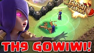 "getlinkyoutube.com-Clash of Clans | ""GOWIWI TH9 3 STAR WAR STRATEGY"" 