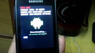 getlinkyoutube.com-Flashing Samsung Galaxy Pocket To Stock Rom (Step By Step)Easy And Simple HD!!
