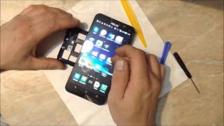 getlinkyoutube.com-Смартфон ASUS ZenFone 2 (ZE551ML) полный разбор и замена Дисплея/Экрана/Тачскрина