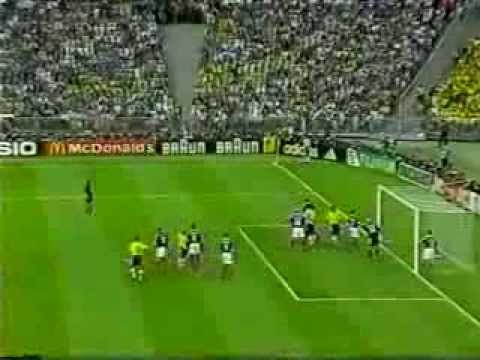 FIFA World Cup 1998 Brazil vs France full match (English)