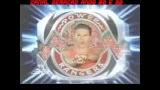Power Rangers Evolution 1993 - 2012 (Mighty Morphin Power Rangers Theme Song )