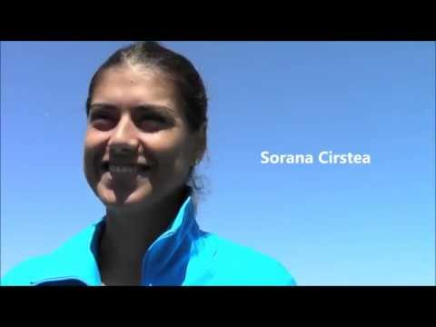 Sorana Cirstea Interview from 2014 Family Circle Cup
