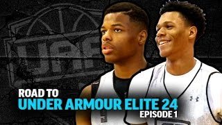 getlinkyoutube.com-Road to Under Armour Elite 24 Ep. 1 - Dennis Smith, Josh Jackson, Trevon Duval & Terrance Ferguson
